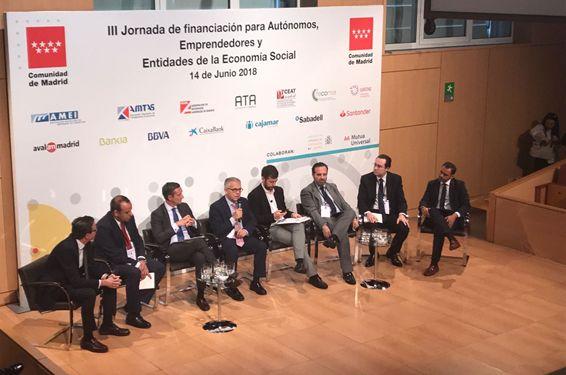 Avalmadrid en las III jornadas de Financiación para Autonomos Emprendedores y Economía Social